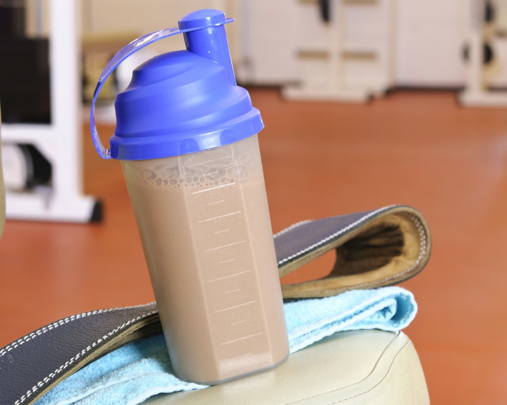 The Caffeinated Protein Shake: take your workout to another level