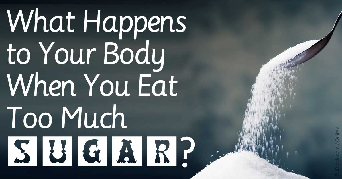 What Too Much Sugar Does To You