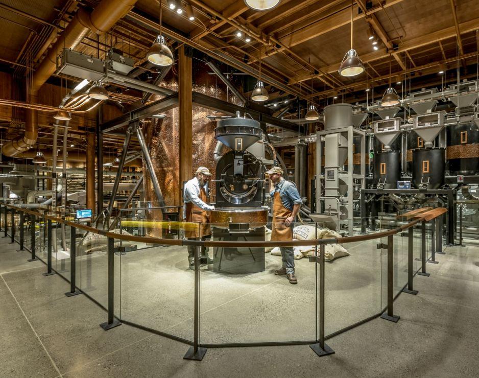 Starbucks Announces Largest Roastery Concept Building Yet