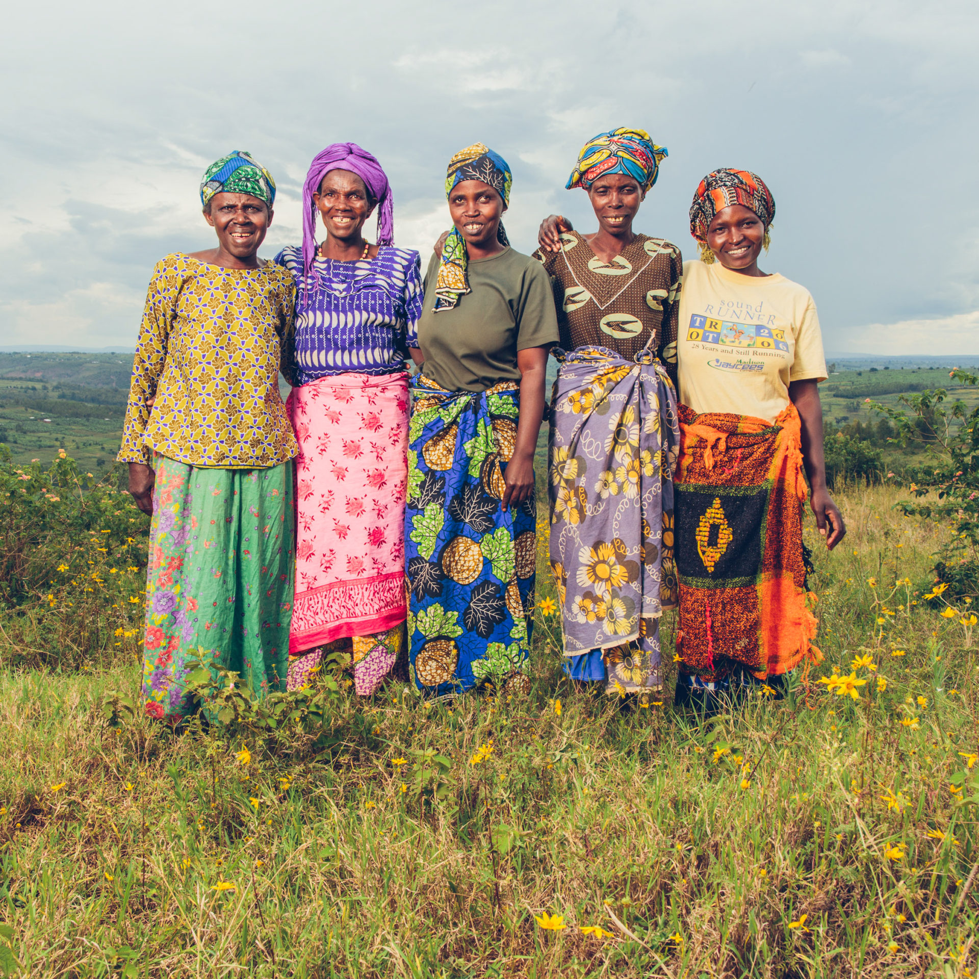 Rwandan women in the coffee supply chain