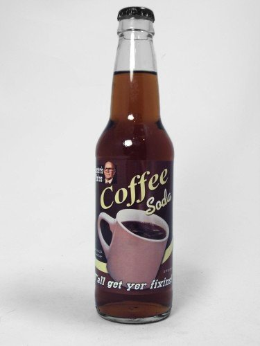 Lesters coffee flavored soda has the same idea as Coca Cola Coffee