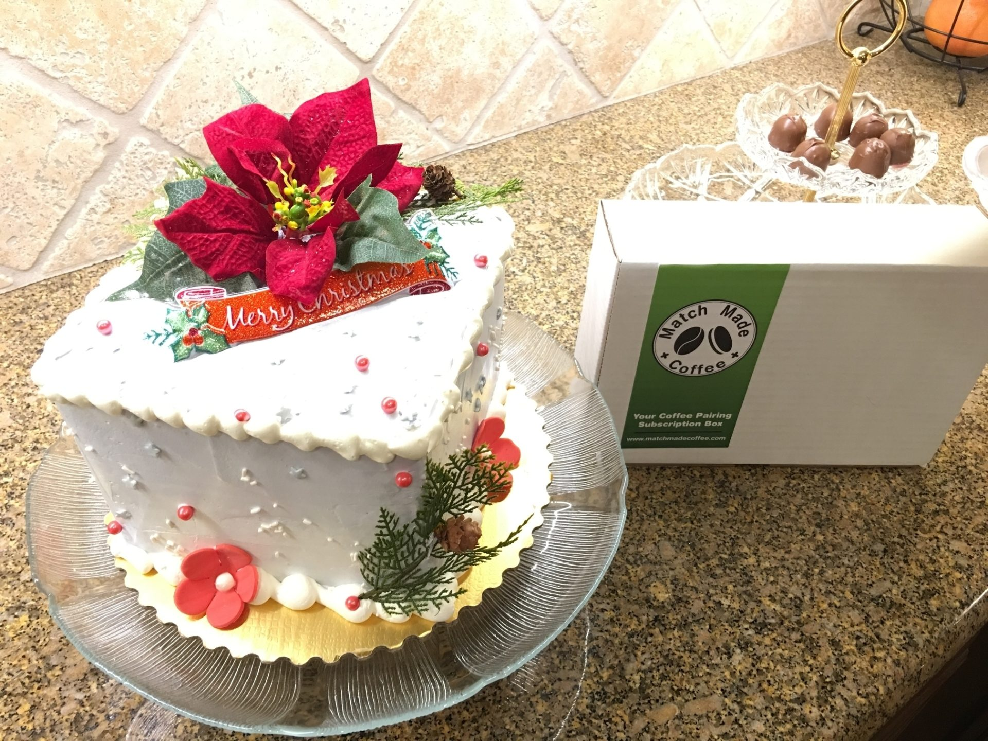 Donate To Children's Hospital Workers CHOC Pharmacy Christmas Cake 2017 Match Made Coffee