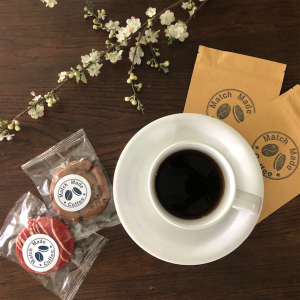 craft gourmet coffee and cookies